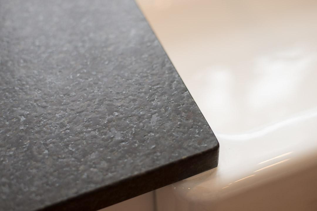 Winslow Interiors - granite countertop and sink detail