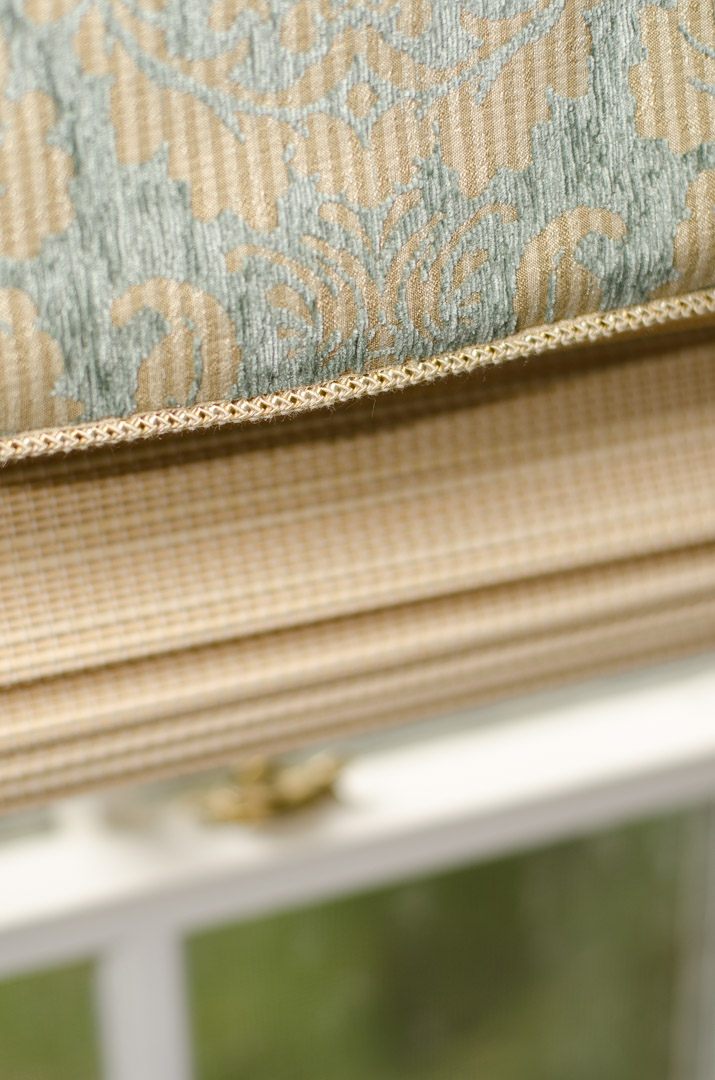 Winslow Interiors - custom window treatment