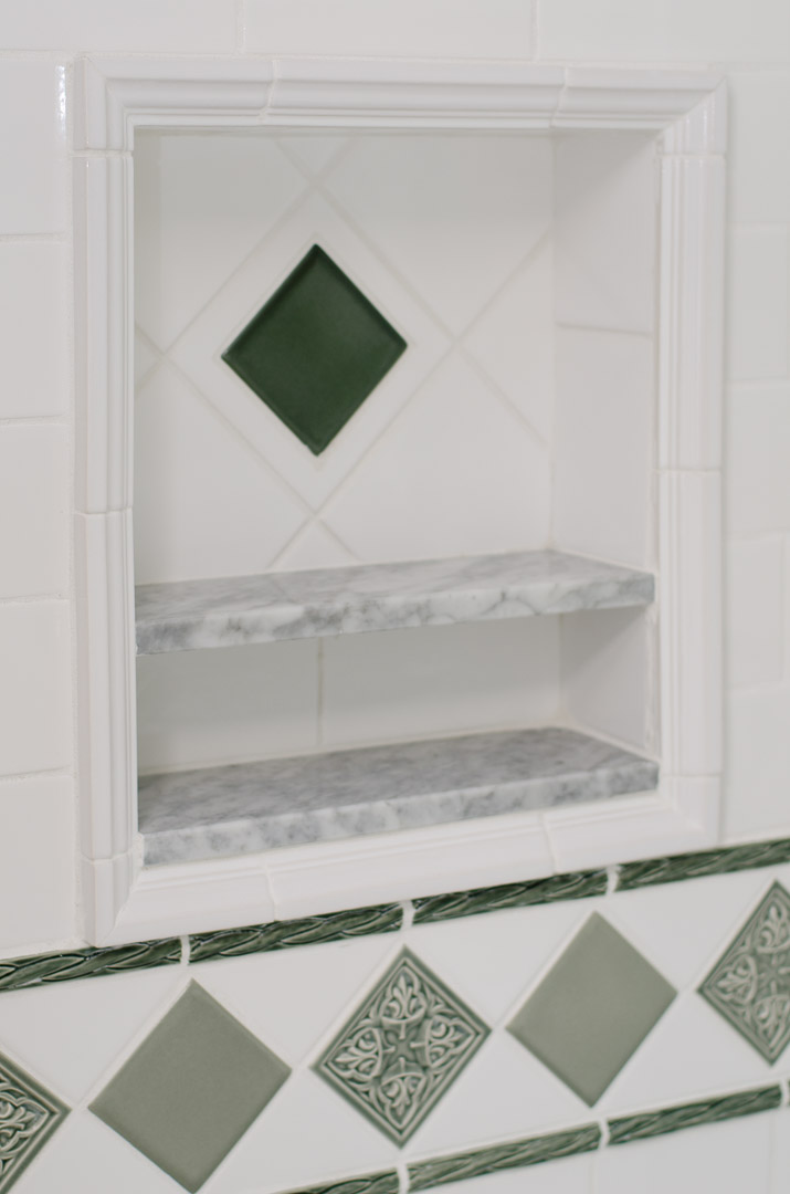 Winslow Interiors - custom tile detail