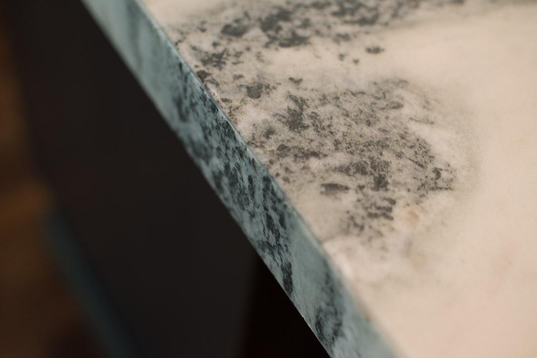 Newtown Square custom home granite countertop detail