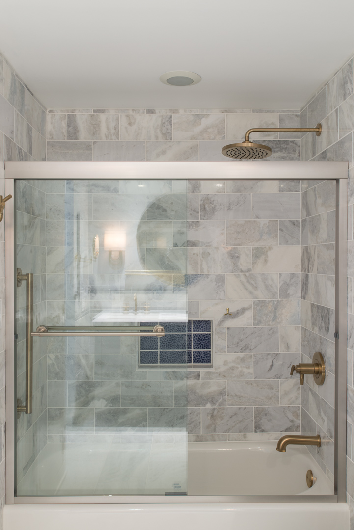 Winslow Interiors Interior Design - custom shower enclosure