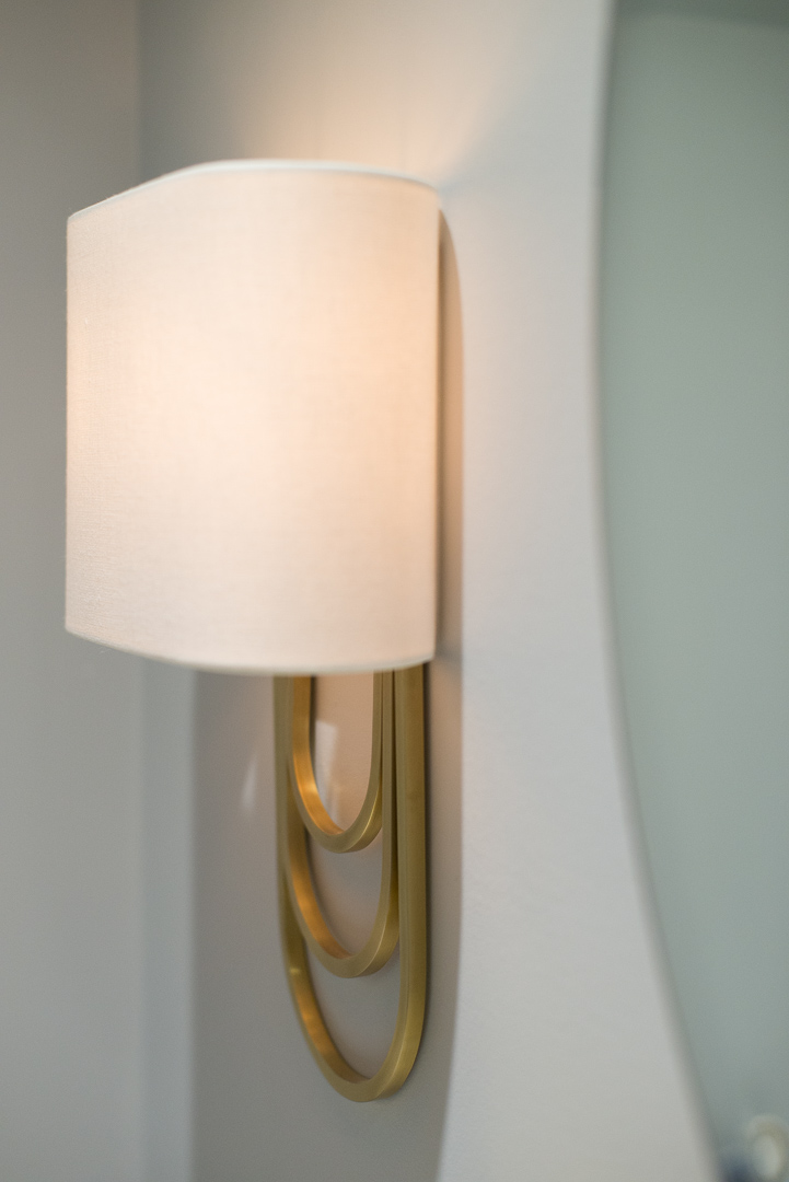 Bryn Mawr Master Bath Renovation sconce lighting