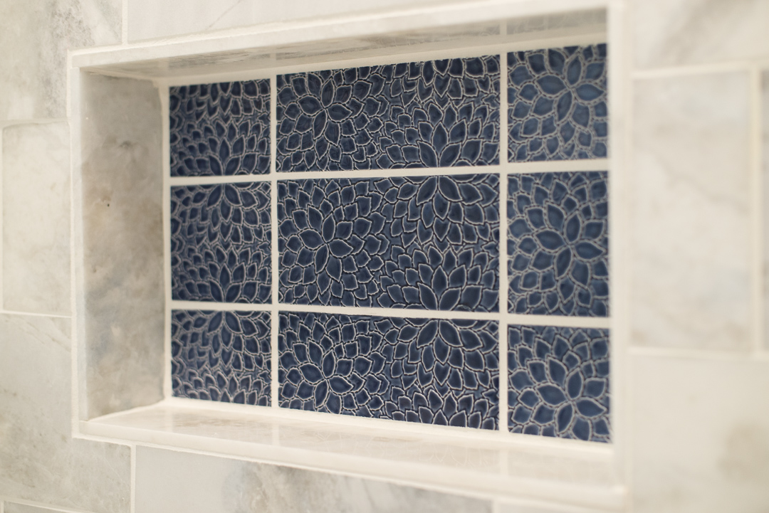Winslow Interiors - decorative tile inset detail